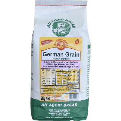All About Bread German Grain Breadmix 2kg
