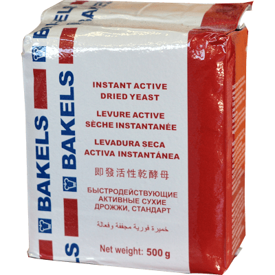 Bakels Instant Active Dried Yeast 500g