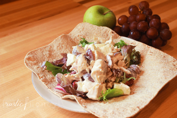 Chicken Salad Wrap With Apple & Bacon: Wrap It Up ...