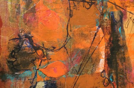 Gelli Print Collage – Autumn Activity