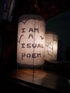 I am a visual poem