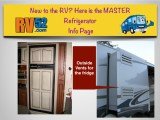 rv how to refrigerator quick info page