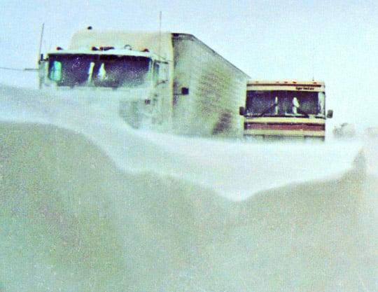 2 540 MINSHALL - SNOW STORM, AMARILLO TX.