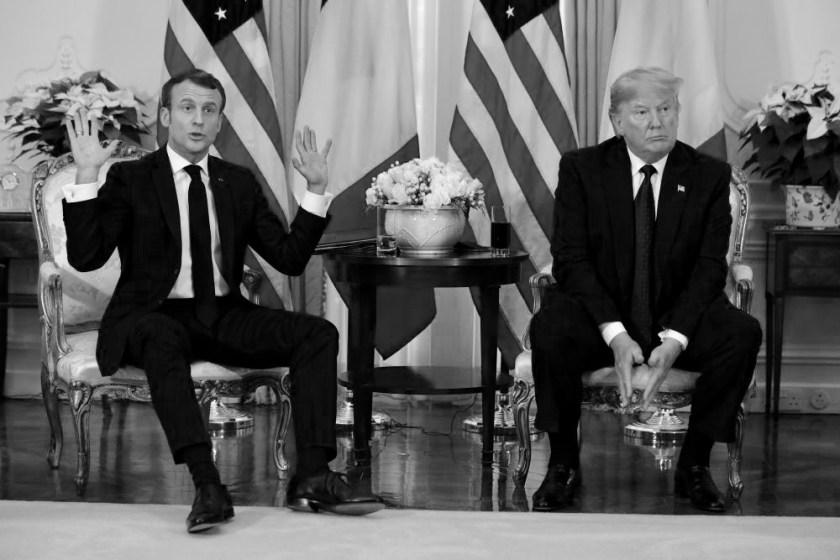 Pres. Macron and Pres. DJT - Wine Tariff