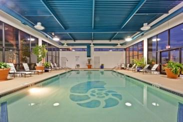 Indoor Heated Pool Hotel Indigo Buffalo