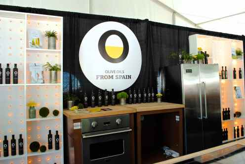 Olive Oil from Spain Tent