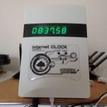 電波時計信号送信機能付きNTP対応時計