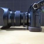 [X-Pro2] カスタマイズ … グリップ付きカメラベースへ交換