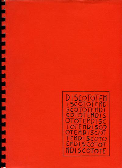 DISCO TOTEM cover1