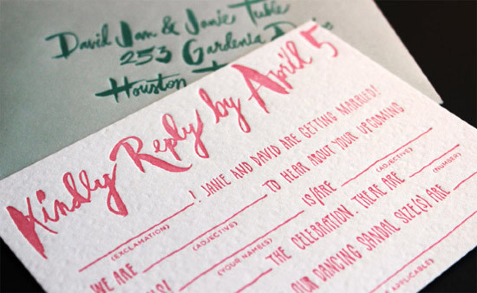 Cushty Guests Mad Libs Wedding Ideas Huffpost Wedding Rsvp Card Wording Website Wedding Rsvp Card Wording Number inspiration Wedding Rsvp Card Wording