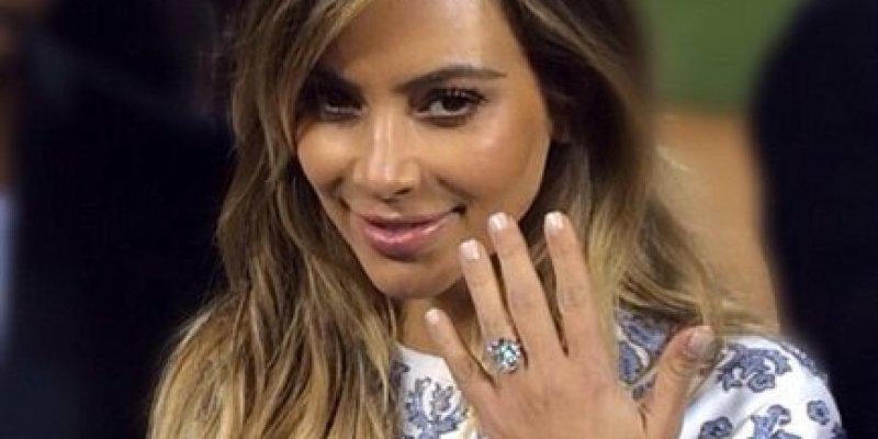 Large Of Kim Kardashian Engagement Ring