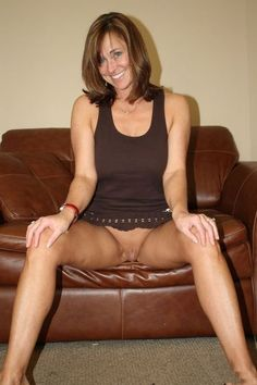 british mature spreading legs