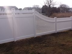 Fine Vinyl Privacy Fence Ideas Transition Slope I Dont To