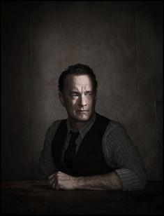 tom hanks by dan male movie powerful intense shadow and photo more dramatic studio lighting