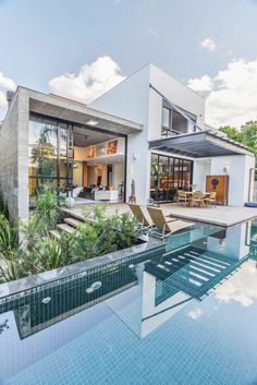 1000+ ideas about Modern Houses on Pinterest | Houses, Modern and Architects