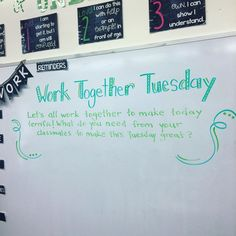 Work Together Tuesda