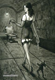 femdom artwork