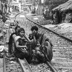 Calcutta Slum Life