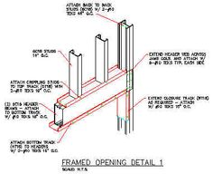 Metal Stud Construction  Offering Accurate Steel Joist Details Stud Detailing At Low