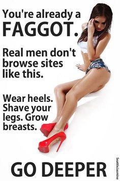 feminization humiliation captions