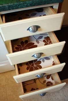 1000+ images about Drawer liners on Pinterest | Drawer liners, Shelf paper and Damask wallpaper