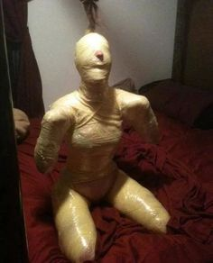 gay mummification bondage