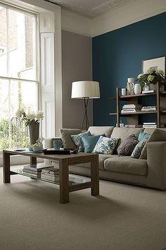 greyu0026tealroom traditional home design living rooms ocean mermaids grey walls brown furniture a