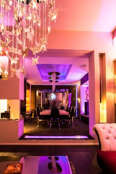 shows how ambx lighting control can change a space with stunning e