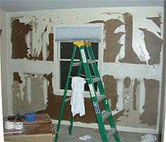 How to repair drywall damaged from wallpaper removal | More Drywall ideas