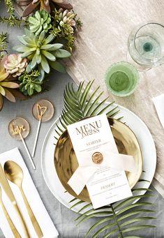 Botanical wedding st