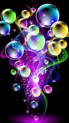 1000+ images about Colorful Bubbles Wallpaper on Pinterest   Bubbles, Rainbows and iPhone wallpapers