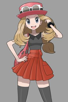 pokemon fanfic ash and serena x