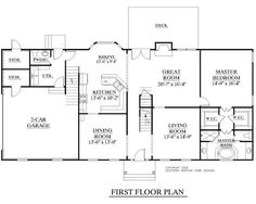 1000+ images about Two-Story House Plans on Pinterest | House plans, Bonus rooms and Square feet