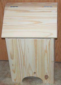 wood storage bench diy