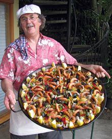 Spanish Theme Tapas and Paella Birthday Party Ideas | Paella, Birthdays and Spanish