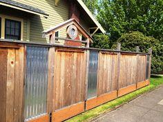 Plain Sheet Metal Fence Dave Snyderreal Estate Steel Fencemetal For Decorating Ideas