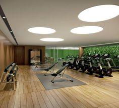 Wild Home Gym Design