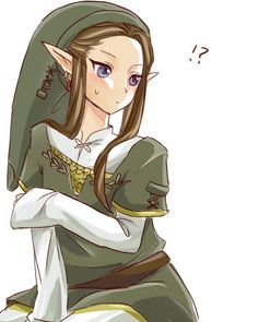 dark link as a girl