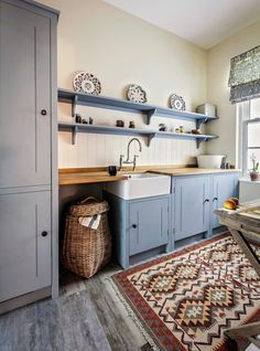 """<a class=""""pintag searchlink"""" data-query=""""%23PlainEnglish"""" data-type=""""hashtag"""" href=""""/search/?q=%23PlainEnglish&rs=hashtag"""" rel=""""nofollow"""" title=""""#PlainEnglish search Pinterest"""">#PlainEnglish</a> Kitchens Farmhouse Kitchen with Display Plates in London by British Standard by Plain English"""