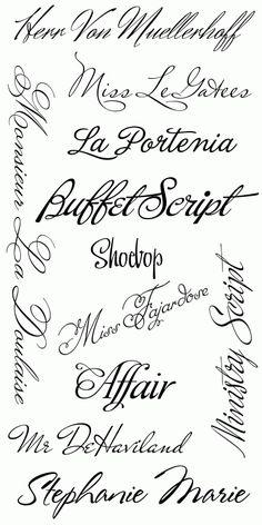 Tattoo Script Font Generator Free - Tattoo's Imagine ...