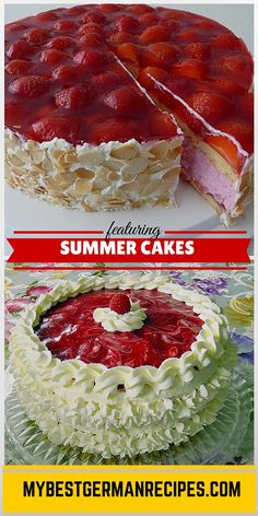 Raspberry Yogurt Cak