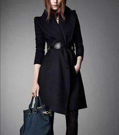 Winter Coat Black Co