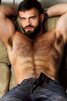 hairy chest men nude