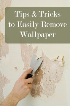 Using fabric softener and hot water is a good idea for wallpaper and border removal. Recommend ...
