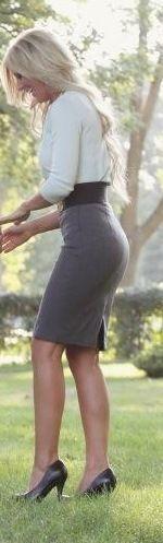 big ass tight skirt