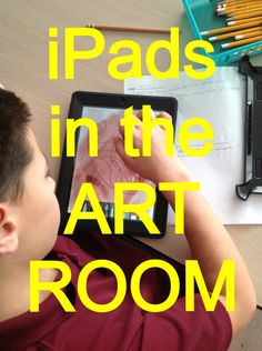 ipads in the art roo