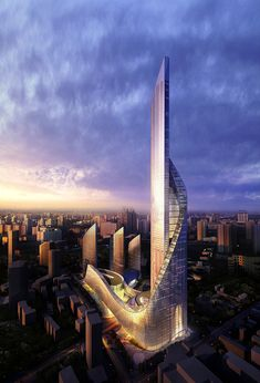 Dubai Towers Doha, Qatar by RMJM Architects :: 84 floors, height 445m | Architecture :: high ...