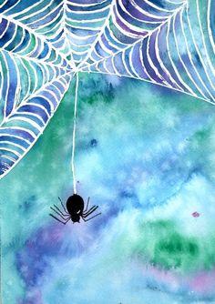 Draw the spiderweb w