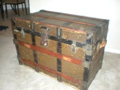 1000+ images about Victorian Trunks on Pinterest   Steamer trunk, Trunks and Victorian