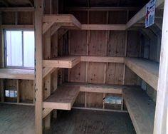 tool storage shelves woodworking plan